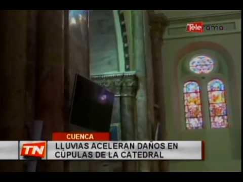 Lluvias aceleran daños en cúpulas de la catedral