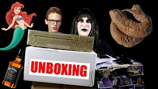 GOTH UNBOXING FAN MAIL