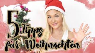 5 Tipps um Weihnachten SCHLANK zu überstehen | Sophia Thiel