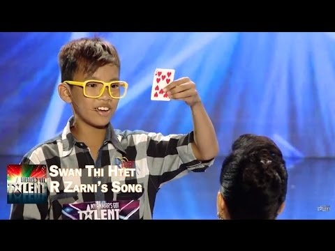Swan Thi Htet - magical performance surprises judges || Myanmar