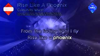"Conchita Wurst - ""Rise Like A Phoenix"" (Austria) - [Karaoke Style]"