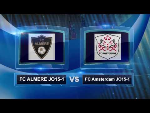FC Almere JO15-1 - FC Amsterdam JO15-1