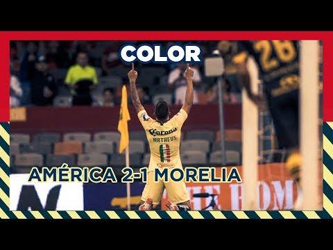 COLOR: América 2-1 Morelia Jornada 9 Liga MX Apertura 2018