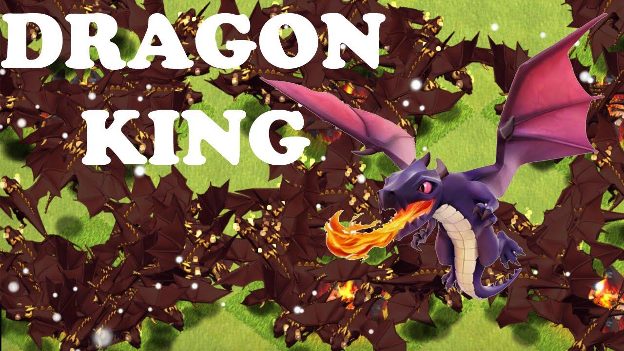 Clash Of Clans Dragon King | www.pixshark.com - Images ...