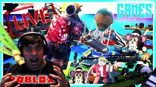 🔴HOW TO PLAY ROBLOX LIVE STREAM WITH FAMS - (CAN YOU BEAT ME???) !! !! 224