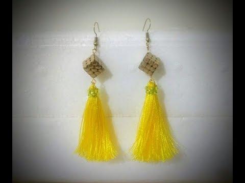 DIY Silk thread Tassel Earrings - Classy, beautiful, Funky yet Super easy!!!