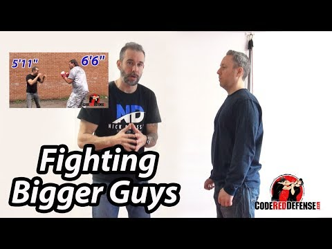 Discussion about Fighting Larger Attackers