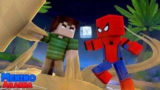 Minecraft: MENINO ARANHA - A VOLTA DO HOMEM AREIA!!! #153