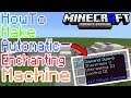 HOW TO MAKE AUTOMATIC ENCHANTING MACHINE IN MCPE | Minecraft PE