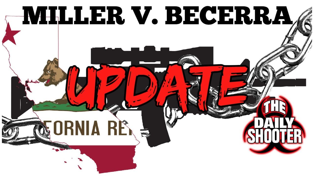 Miller V. Becerra Update What's Going On?