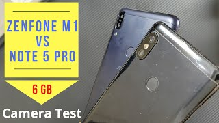 Asus Zenfone Max Pro M1 6gb Ram vs Redmi Note 5 Pro Portrait, Camera, Video, Audio Comparison !