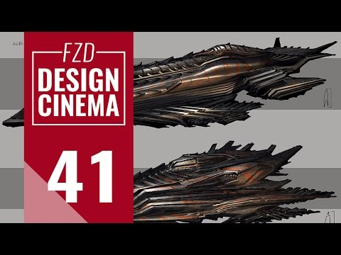 Design Cinema – EP 41 - Alien Spaceships
