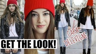Cara Delevingne Get The Look! Hair, Makeup + Outfit!