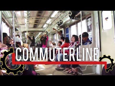 TIMELAPSE - NOW YOU CAN EXPLORE JAKARTA BY USING COMMUTERLINE #publictransportation
