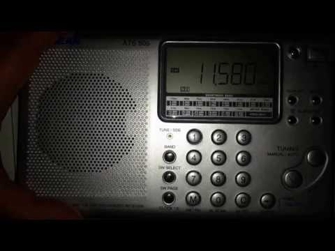 Radio ukraine international on Sangean ATS 505
