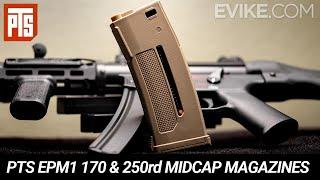 PTS EPM1 170 & 250 Rds Midcap Magazines - Quick Look