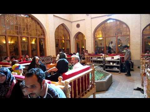 Ispahan | Isfahan | Esfahān | Restaurant | Delicious Food | Iran 2012