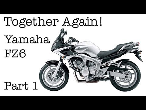 Together Again - Dick Rides His Beloved Yamaha FZ6 Motorcycle - Motovlog Review