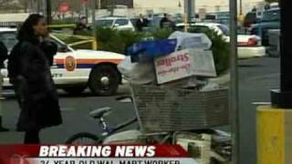 Walmart employee trampled on black friday