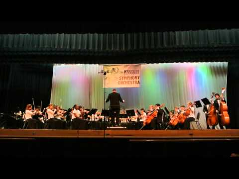 Neshaminy Orchestra at Pennsbury HS Competition - Song #2