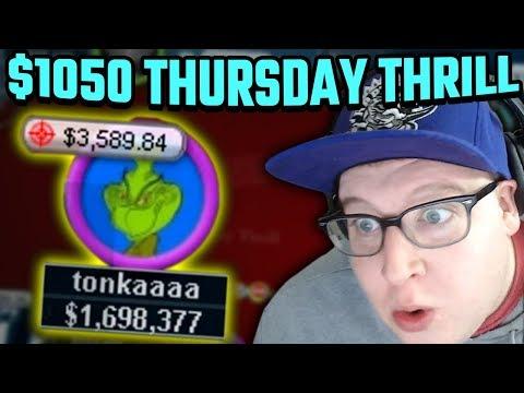 CAN I DO IT AGAIN? $1050 THRILL DEEPRUN! (PART 1)