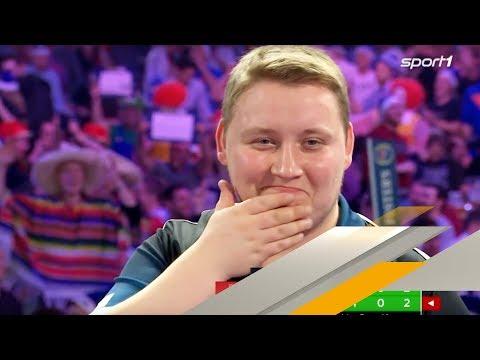 Double-Trouble: Das verrückteste Leg der Darts-WM   SPORT1