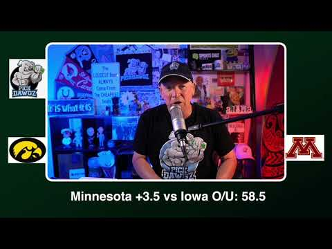 Minnesota vs Iowa 11/13/20 Free College Football Picks and Predictions CFB Tips | Pick Dawgz