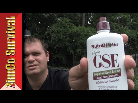 ✔️ Quick Tips: GSE (Grapefruit Seed Extract)