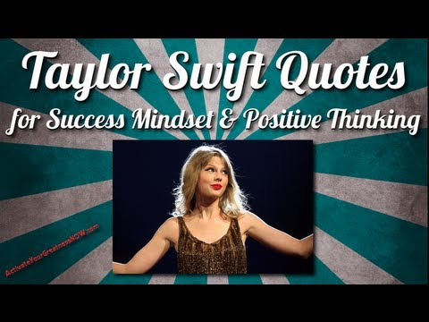 Taylor Swift Quotes For Life, Happiness, Success, Friendship And Business