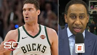 Brook Lopez outshined the Greek Freak in Game 1 vs. Raptors – Stephen A. | SportsCenter