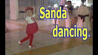 Санда танцует. Клип. DRUM- кавер Монатик