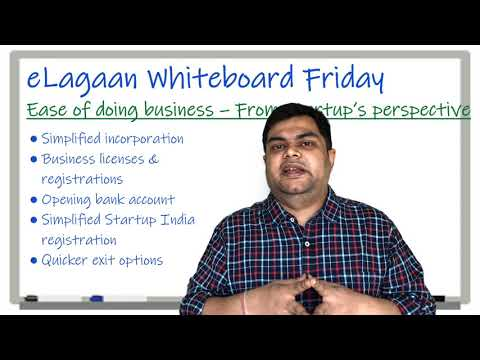 Ease of doing business in India - From a Startup's perspective  [Whiteboard Friday]
