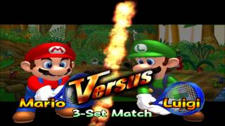 Mario Power Tennis - Gameplay 1080p Gamecube - (Dolphin)