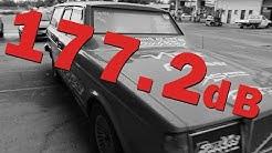Australia's Loudest Car 177.2 dB