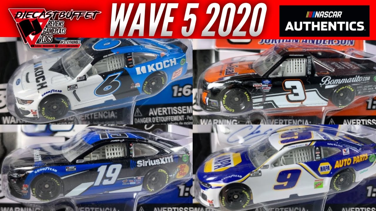 This Wave Is Amazing Incredible Dnp Diecasts New Truck 2020 Nascar Authentics Wave 5 Review Youtube