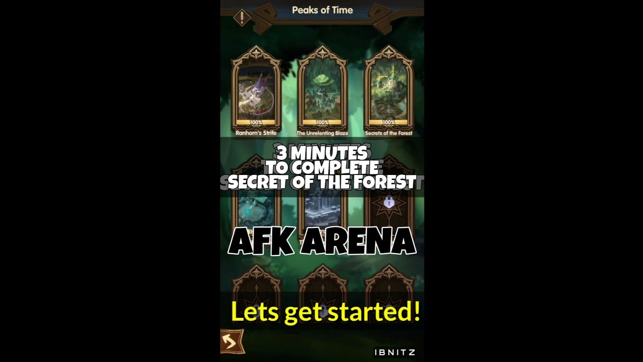 Afk arena geheimnisse des waldes