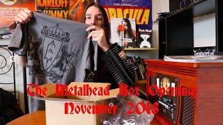 The Metalhead Box Opening: November 2018