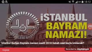 İstanbul Bayram Namazı Saat Kaçta? 21 Ağustos 2018