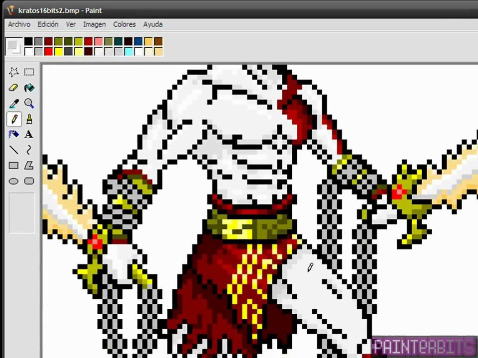 Kratos (por PainterBits) - YouTube
