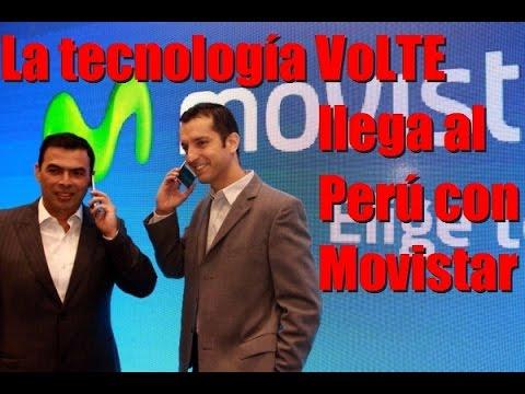 La primera llamada con la tecnología VoLTE por Movistar Perú