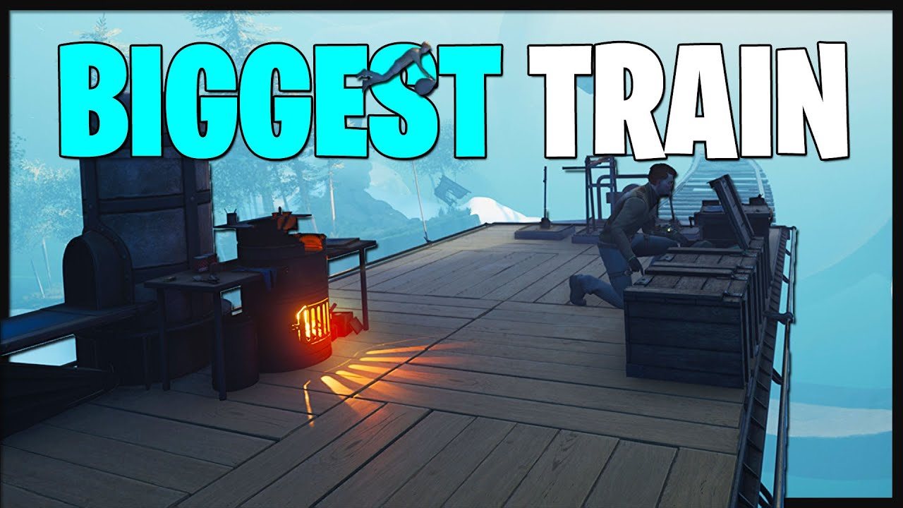 Download How to Upgrade the Train! - We're Building the BIGGEST TRAIN Possible!  (Voidtrain Gameplay Part 3)