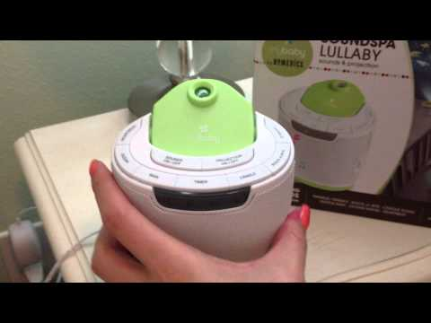 MyBaby Soundspa Lullaby Sound Machine And Projector - VEDA #25