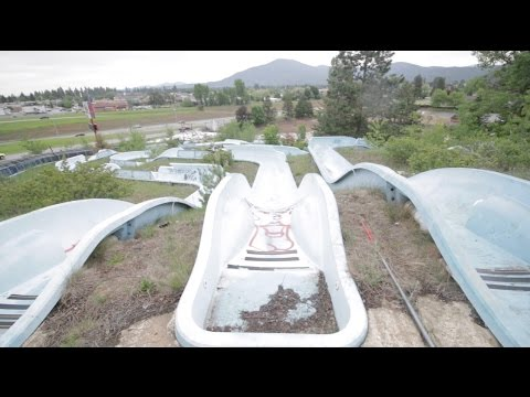 Wild Waters - ABANDONED Water Slide Theme Park