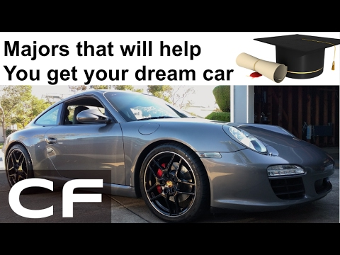 Majors and Professions that will help you get your Dream Car (Porsche)