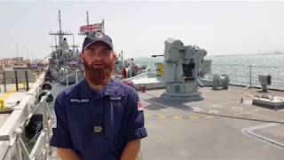 Virtual tour of HMS Brocklesby in Bahrain