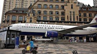 Китаец купил самолёт и открыл в нём ресторан (новости)