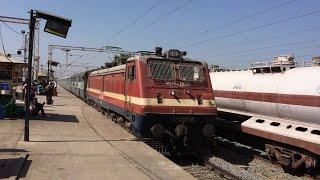 12471 Vishnodevi Katra - Bandra Terminas Swaraj Express Blast At Valsad With Power Of BRC WAP-4E
