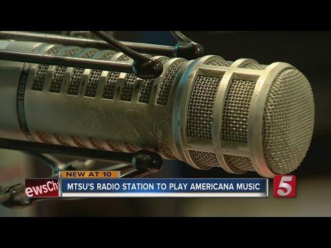 MTSU Radio Station To Feature Americana Music
