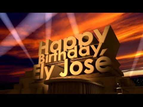 Happy Birthday Ely José