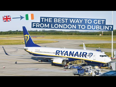 TRIPREPORT | Ryanair | London Stansted - Dublin | Boeing 737-800